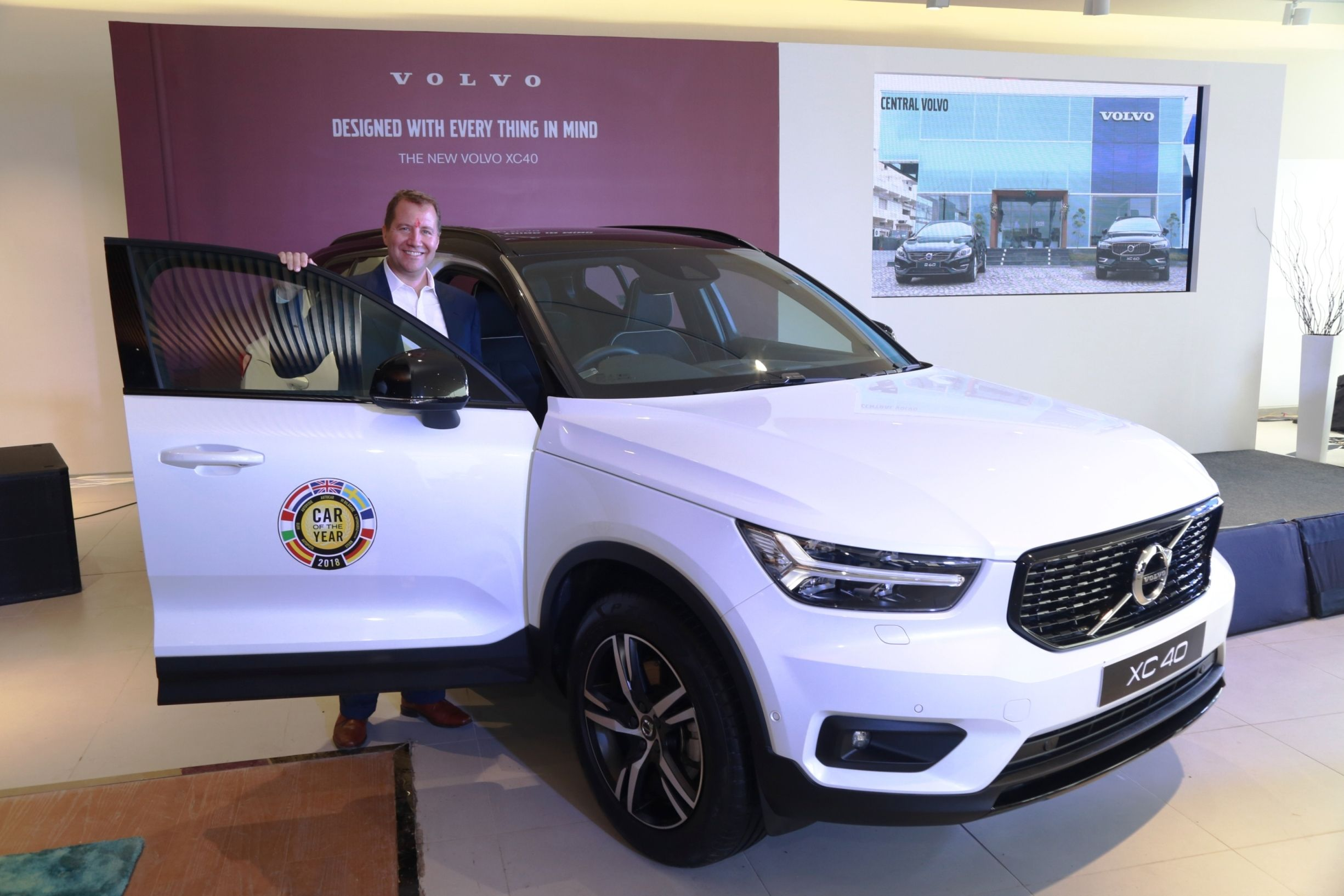 Volvo Cars Debuts In Madhya Pradesh By Opening Its First Dealership In Indore